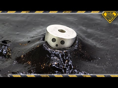 Magnetic Slime Swallowing Monster Magnets