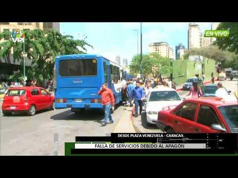 Venezuela - Apagones continuos provocan caos en Caracas - VPItv