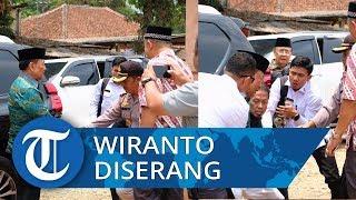 Wiranto Diserang Seusai Resmikan Gedung di Universitas Mathla'ul Anwar