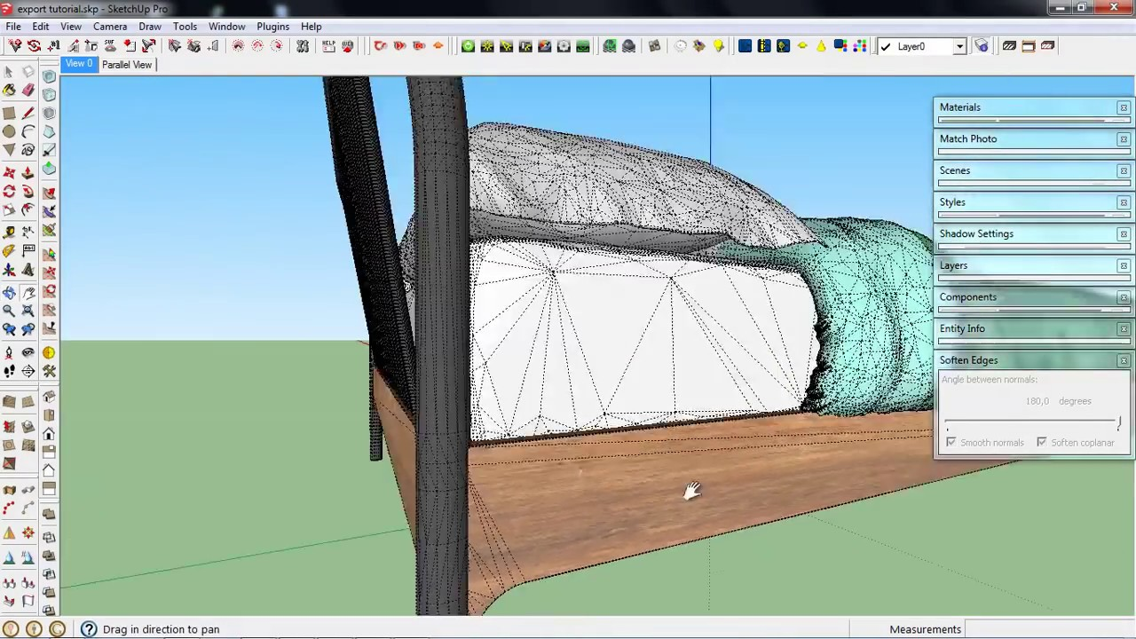 Export 3ds file to SketchUp with Textures