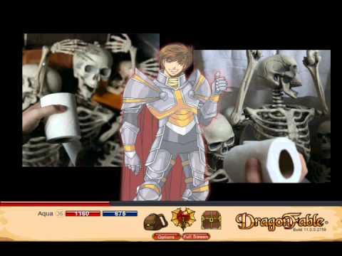 Let's Play Dragon Fable Pt 109 - Falconreach Idol - George Lowe Smash!