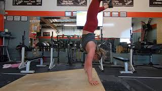 Claire Handstand Obstacle