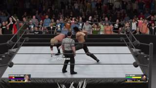 Wwe 2k16 Diamond cutter outta nowhere