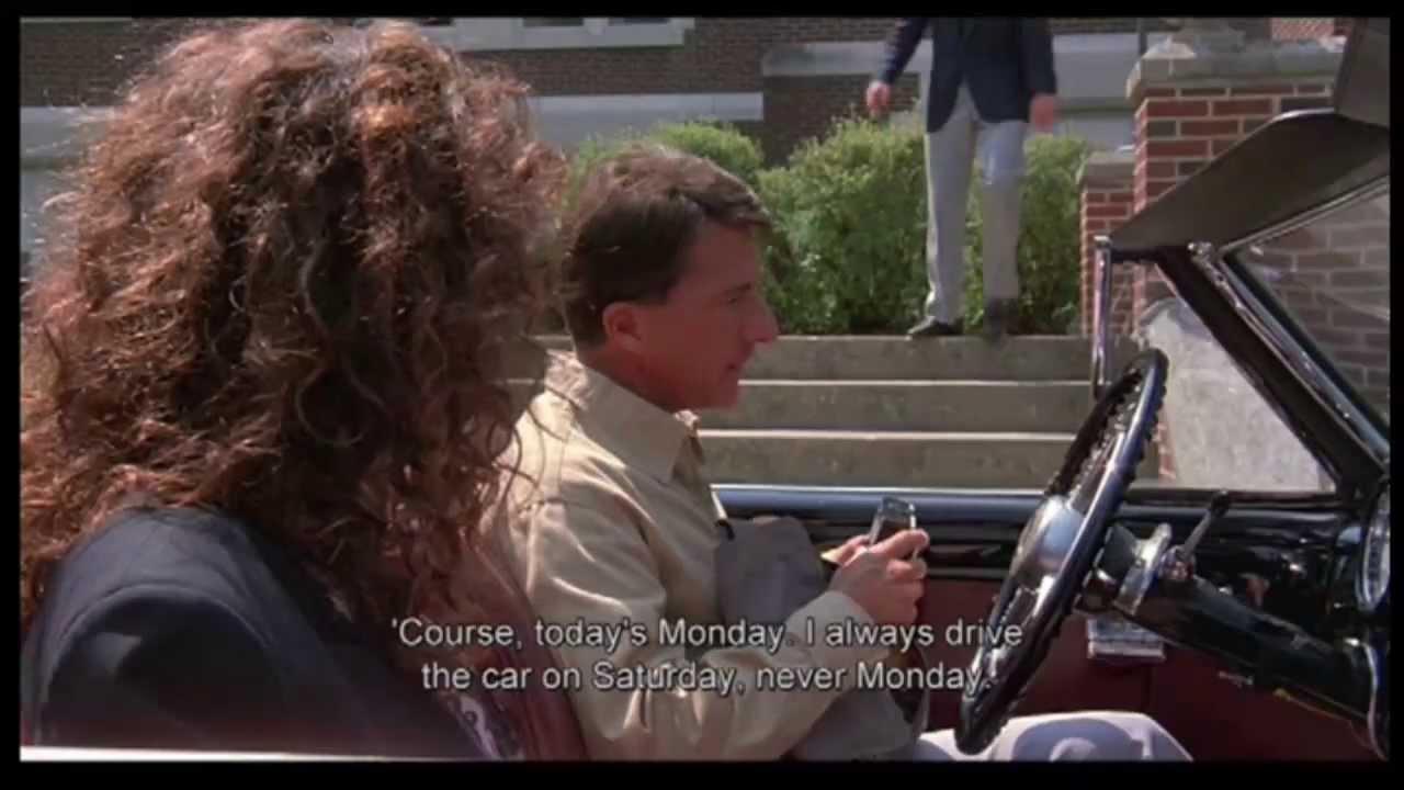 Rain Man Clip2 Part 1 Quot Autistic Savant Quot Youtube