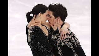 Tessa Virtue and Scott Moir's Short Dance in Team Figure Skating | Pyeongchang 2018