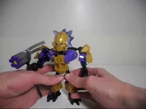 Lego Bionicle Moc Makuta G2 Using Djpavlushas Instructions Youtube