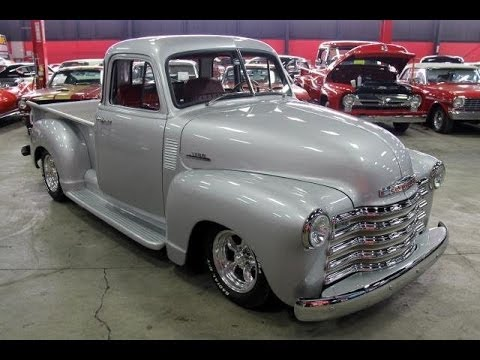 1953 chevy 5 window pickup for sale youtube for 1953 5 window
