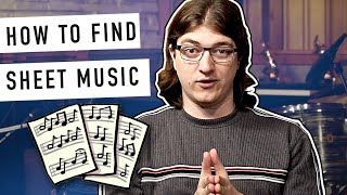 How To Find Sheet Music For Popular Hit Songs