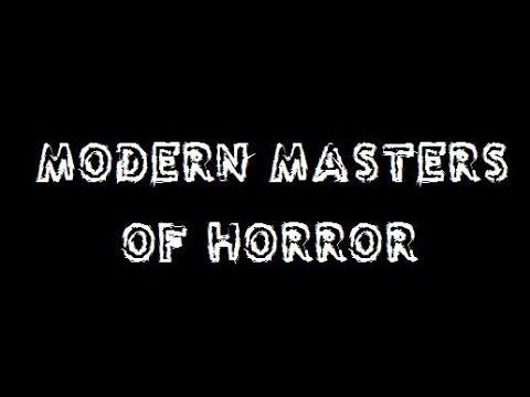 El sobre de la semana 05. Modern Masters of Horror