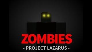 ROBLOX Projeto Lazarus: 💀 ZOMBIES 💀-🐺 A I ' m LIVE 🐺-Daniel alfa