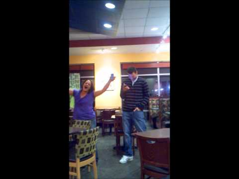 """Panera """"Meeting"""" (AKA Spontaneous Karaoke with Rob and Stacey)"""