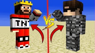 TNT SET VS BEDROCK SET ! MİNECRAFT SET KAPIŞMASI