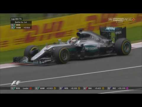 Hamilton VS Rosberg - Final Lap - Austrian Grand Prix 2016