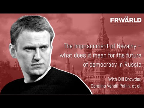 Panel discussion: The imprisonment of Alexei Navalny