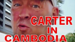 Siem Reap airport Cambodia to the villa with Geoff Carter Day 1