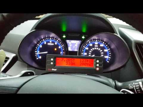 2013 Hyundai Veloster Turbo factory launch control trick