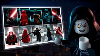 Lego Star Wars The Force Awakens vs Clone Wars Characters Comparison