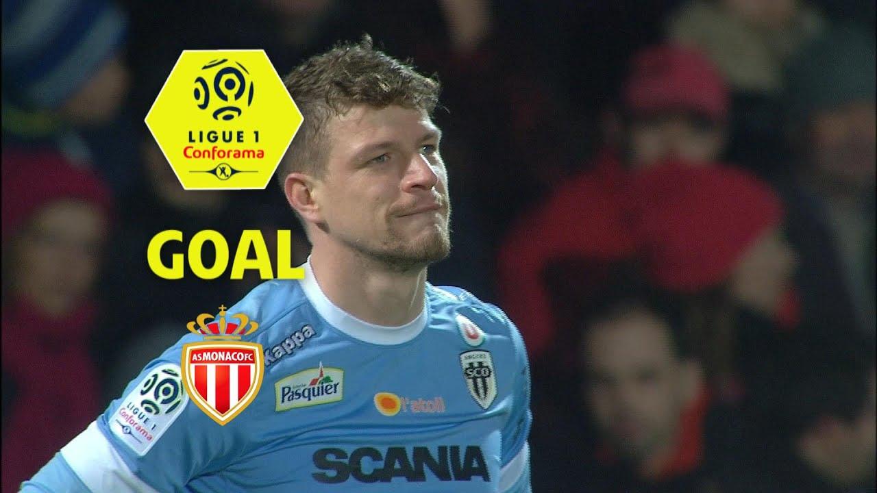 Анже - Монако 0:4 видео