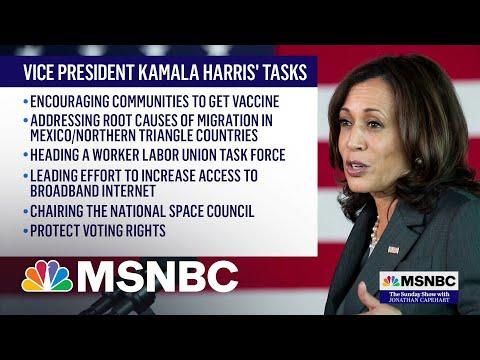 Vice President Kamala Harris Visits The U.S.-Mexico Border
