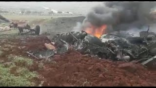 Another Syrian army helicopter stot down
