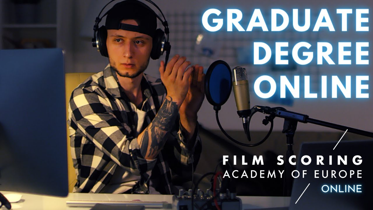 Online Graduate Diploma in Film and Game Scoring