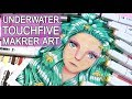 UNDERWATER 【 Touch Five Markers Drawing 】