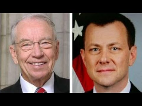 Download Youtube: Sen. Grassley calls for greater scrutiny of Strzok's texts