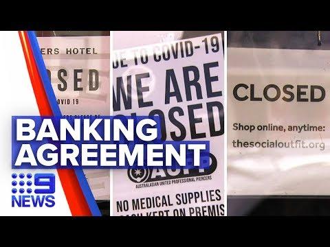 Coronavirus: Banks To Help Struggling Small Businesses | Nine News Australia
