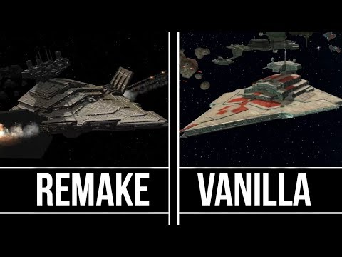 Star Wars Empire At War  - Remake Vs Classic   (Imperial Fleet)