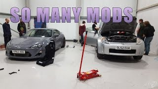 350Z Drift Build #1 - Oil Cooler, Radiator, Bucket Seats, And More