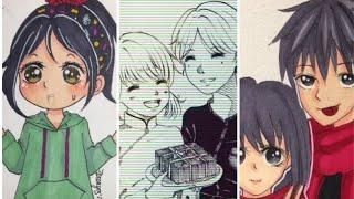 Tranh vẽ của các TikToker- Shikami Arika