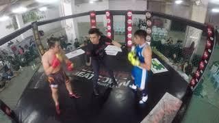 Ultimate Beatdown 30   Amatuer Boxing Muhd Haziq VS Brandon Yeo