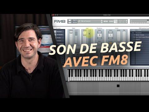 Création d'un son avec FM8 en moins de 4'33 : une basse évolutive