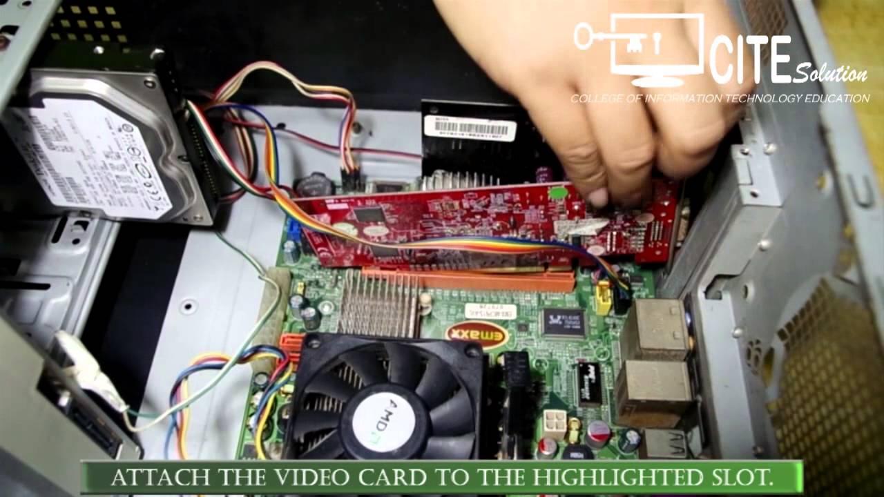 How To Assemble A Desktop Computer