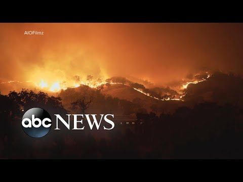 Thousands ordered to evacuate from massive California fire
