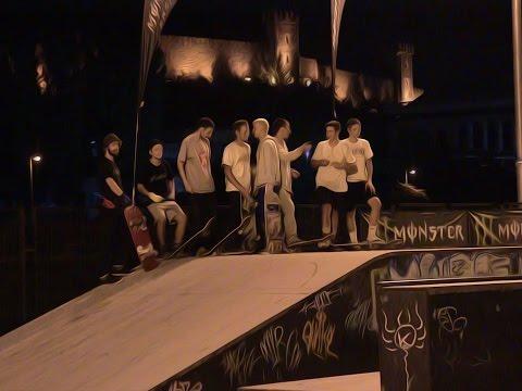 Skopje Challenge III Skateboarding Finals Raw Edit