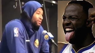 Draymond Green Calls Out Haters Claiming No One Wants To See Warriors Win, Nobody Can F*** Beat Us