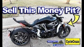 Why I Might SELL My Ducati XDiavel S - BIG PROBLEM!💰💰💰