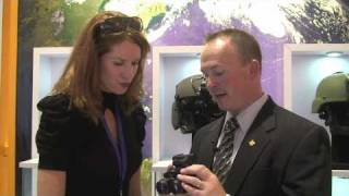 Farnborough 2010: A look at ITT Night Vision goggles