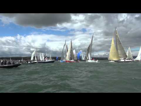 Sailing Crash - Round Ireland Yacht Race 2012