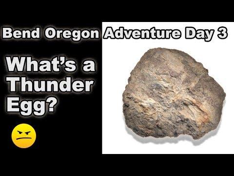 Bend Oregon Day 3 - Thunder Egg Rock Hounding, Bungie Jumping, & Smith Rock Canyon