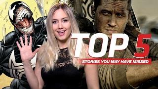 Sony's Venom Snares Tom Hardy - IGN Daily Fix
