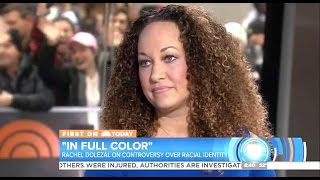 Rachel Dolezal - New Book 'In Full Color' - Today Show