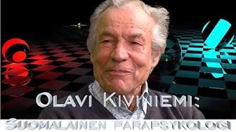 Olavi Kiviniemi - Suomalainen parapsykologi