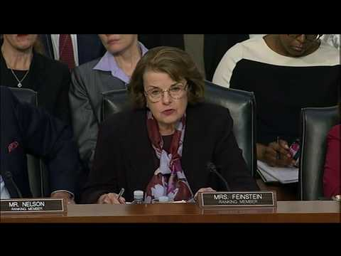 VIDEO: Sen. Dianne Feinstein questions Facebook CEO Mark Zuckerberg