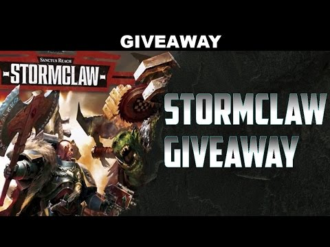 Blog STORMCLAW GIVEAWAY AND NEW DISCOUNTS