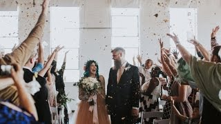 Groom Overcome With Emotion Seeing Paralyzed Bride Walk Down The Aisle thumbnail