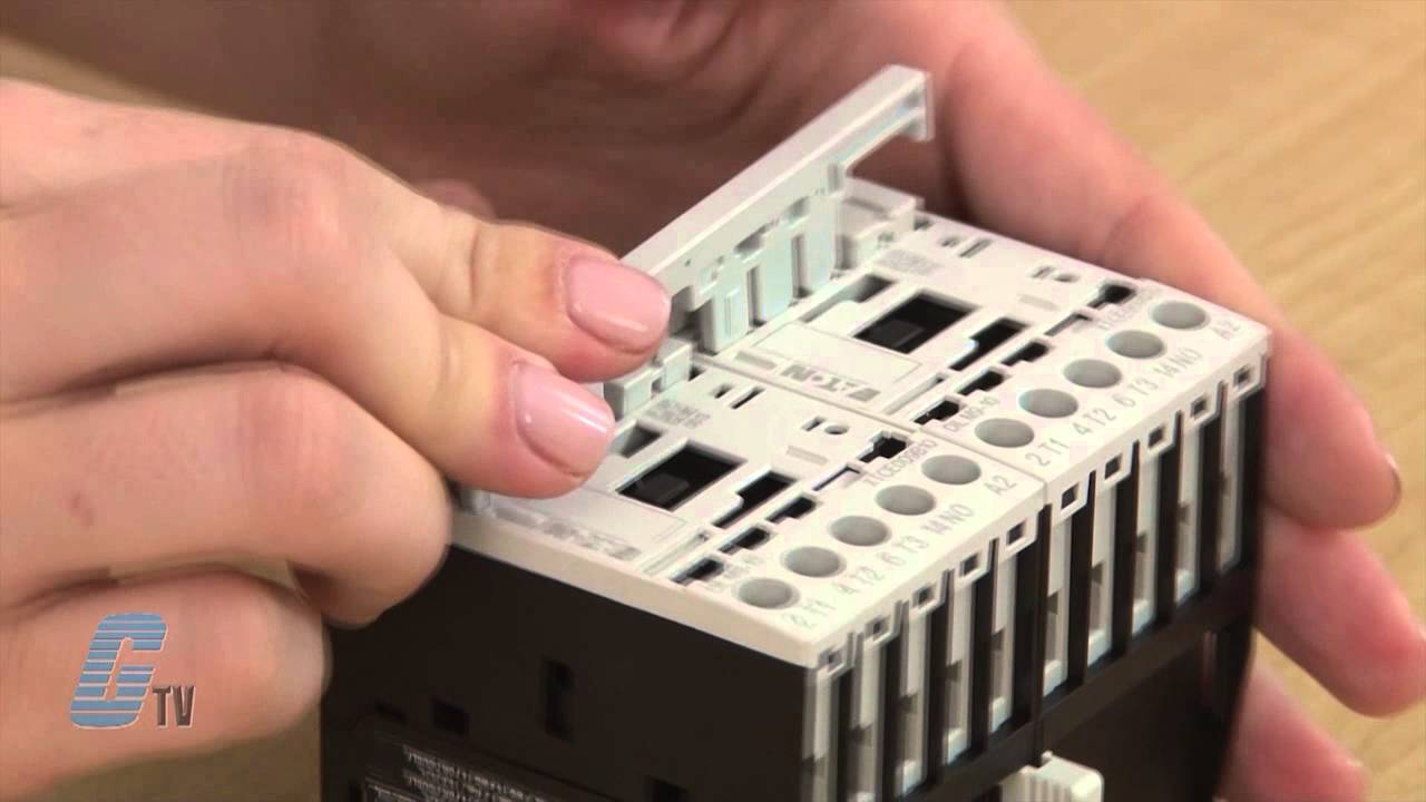 Wiring A Reversing Contactor With Eaton Cutler Hammer's