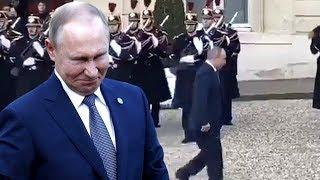 У Путина серьёзные провалы в памяти. Старик совсем плох