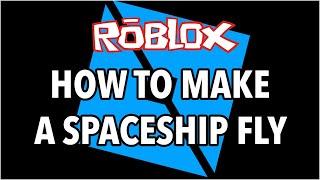 Wie man ein Raumschiff auf Roblox fliegen lässt